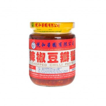 YUET WO - Chili Bean Sauce toban Djan - 210ML