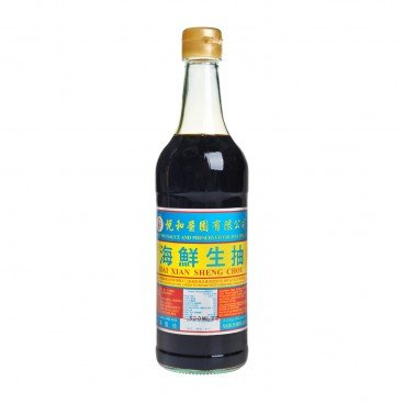 YUET WO Seafood Light Soy Sauce 500ML