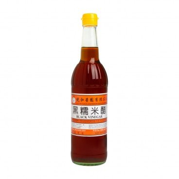 YUET WO Black Glutinous Rice Vinegar 630ML
