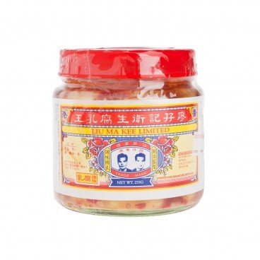 LIU MA KEE Wet Bean Curd With Chili 255G