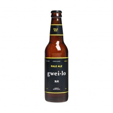 GWEI LO Pale Ale bottle 330ML