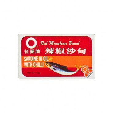 RED MARUBEAN BRAND Sardines In Oil With Chili 125G