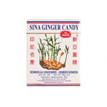 SINA - Ginger Candy Art No iae - 56G