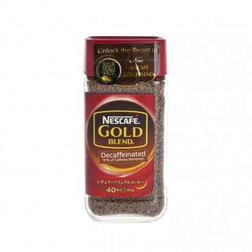 NESCAFE - Gold Blend decaffeinated - 80G