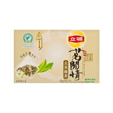 LIPTON Ming Shen Chin brown Rice Green Tea 1.6GX20