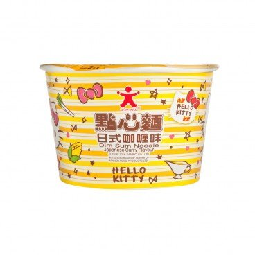DOLL Hello Kitty Mini Cup Noodle curry 37G