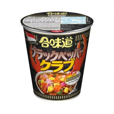 NISSIN - Cup Noodle black Pepper Crab - 75G