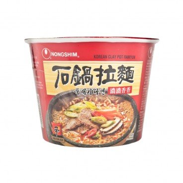 NONG SHIM Big Bowl Noodle clay Pot 117G
