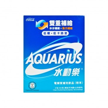 AQUARIUS - Electrolytes Replenishment Pwd - 5'S