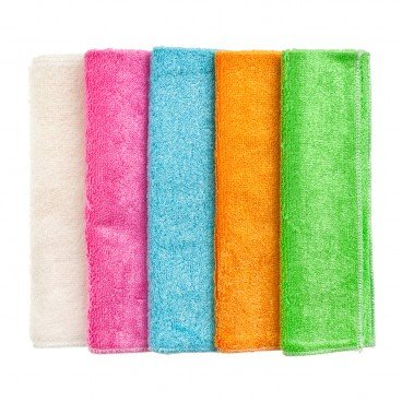 BAMBOO DISH TOWEL Bamboo Towel l random Colour PC