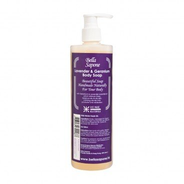 BELLA SAPONE Body Soap lavender Geranium 500ML