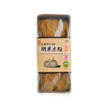 YUAN SHUN - Organic Pumpkin Brown Rice Noodles - 200G