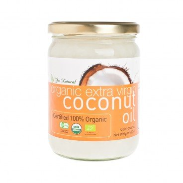 YES NATURAL - Organic Ev Cold Press Coconut Oil - 500ML