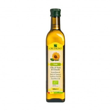 CRUDIGNO Organic Sunflower Seed Oil 500ML