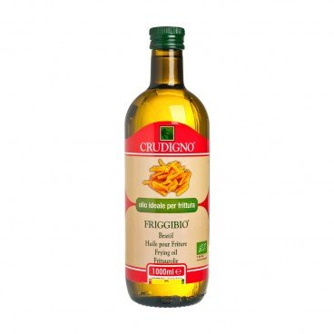 CRUDIGNO Organic High Temp Cooking Oil 1L