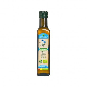 CRUDIGNO - Organic Flaxseed Cooking Oil - 250ML
