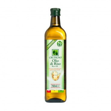 CRUDIGNO Italian Rice Bran Oil 750ML