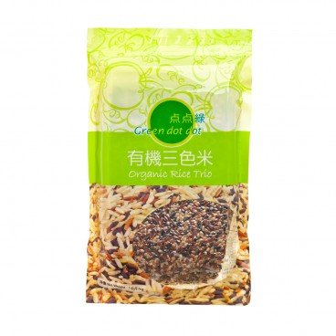 GREEN DOT DOT - Organic Rice Trio - 1KG