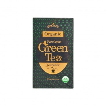 AWAKENING Organic Pure Ceylon Green Tea 2GX20
