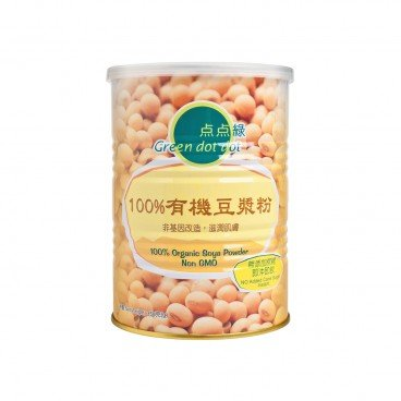 GREEN DOT DOT - 100 Organic Soya Milk Powder - 350G