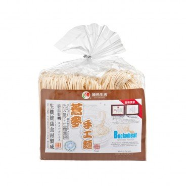 GREEN LIFE PRODUCT Buckwheat Handmade Noodles 600G