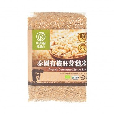 O'FARM Organic Germinated Brown Rice 1KG