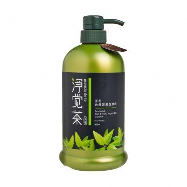 TEA POWER - Natural Tea Seed Dish Fruit Vegetable Wash - 800ML
