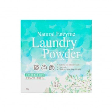 NATURAL ENZYME LAUNDRY POWDER