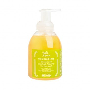 BELLA SAPONE Hand Soap Bubble Pump lime 500ML