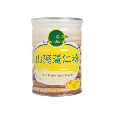 GREEN DOT DOT Yam Jobs Tears Powder 400G