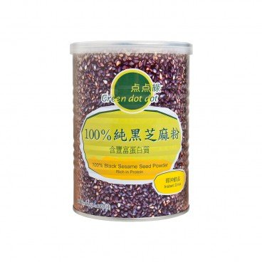 GREEN DOT DOT - 100 Black Sesame Seed Powder - 400G