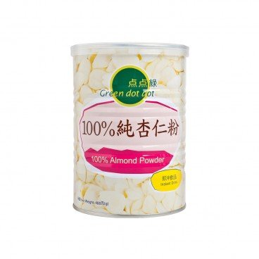 GREEN DOT DOT - 100 Almond Powder - 400G