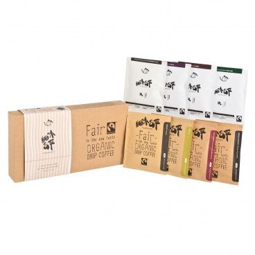 FAIR TASTE - Fair Trade Organic One Cup Filter Coffee - 10GX8