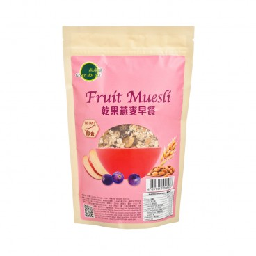 GREEN DOT DOT Hi fibre Fruit Muesli 300G