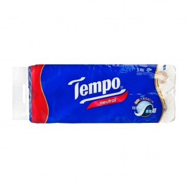 TEMPO得寶 Bathroom Tissue 3 Ply neutral 10'S