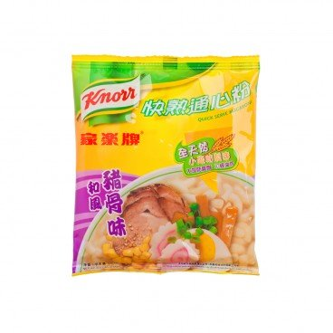 KNORR Quick Serve Macaroni pork Bone Broth 80G