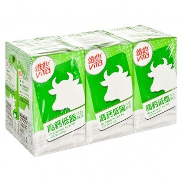 VITA High Calcium Low Fat Milk 250MLX6