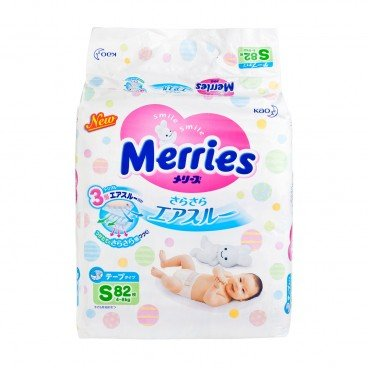 MERRIES花王(PARALLEL IMPORT) - Diaper Small - 82'S