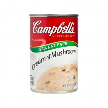 CAMPBELL'S Cream Of Mushroom 98 Percent Fat Free 298G
