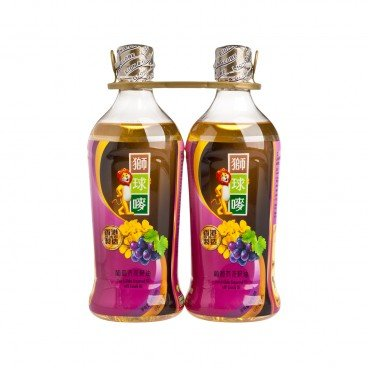 LION & GLOBE Grapeseed Oil With Canola Oil 900MLX2