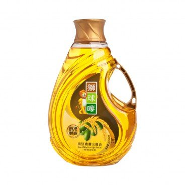 LION & GLOBE Extra Light Olive Oil With Rice Bran Oil 2L