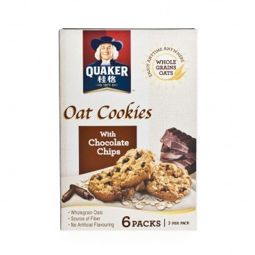 QUAKER Oat Cookies With Choco Chips 27GX6