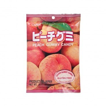 KASUGAI - Peach Gummy Candy - 107G