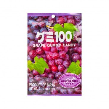 KASUGAI - Grape Gummy Candy - 107G