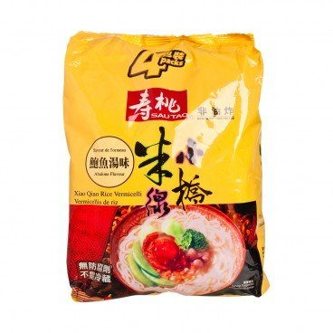 SAU TAO Xiao Qiao Rice Vermicelli abalone Soup Flavoured 215GX4