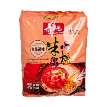 SAU TAO Xiao Qiao Rice Vermicelli pack Tomato Soup Flavoured 215GX4