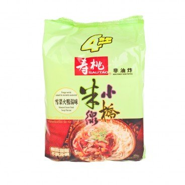 XIAO QIAO RICE VERMICELLI-PACK MUSTARD GREEN DUCK SOUP FLAVOURED