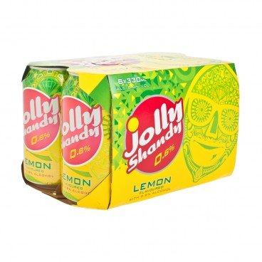 JOLLY SHANDY - Can lemon - 330MLX6
