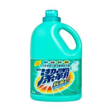 ATTACK Anti bacterial Conc Liquid Detergent 3L