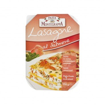 LASAGNE WITH SALMON & SPINACH